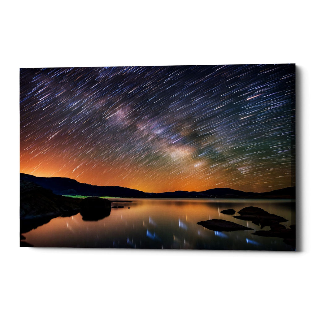 "Epic Graffiti ""Comet Storm"" by Darren White, Giclee Canvas Wall Art"