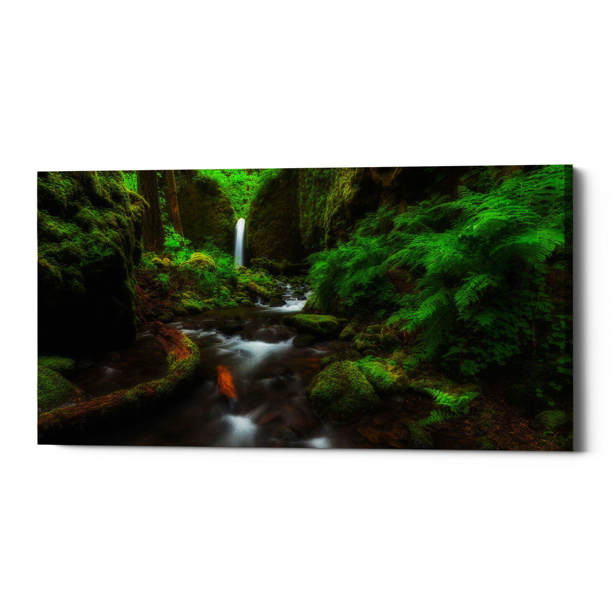 "Epic Graffiti ""Early Morning At The Grotto"" by Darren White, Giclee Canvas Wall Art"