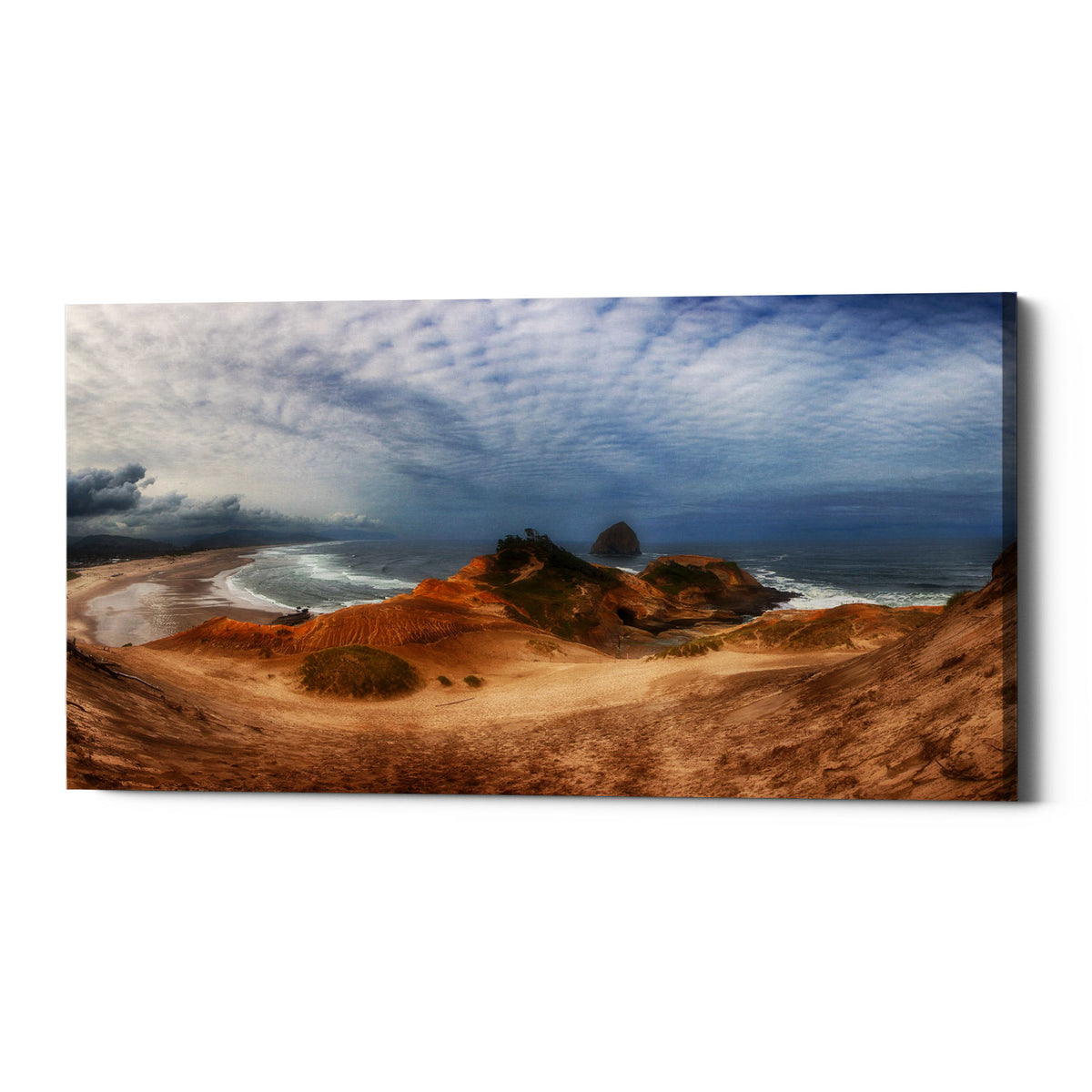 "Epic Graffiti ""Kiwanda"" by Darren White, Giclee Canvas Wall Art"