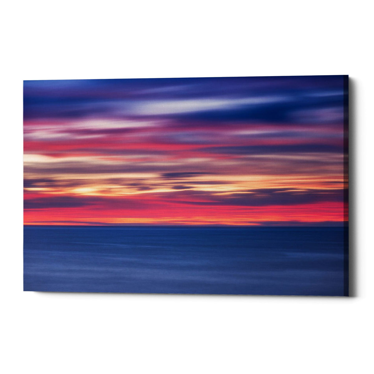 "Epic Graffiti ""One Minute Sunrise"" by Darren White, Giclee Canvas Wall Art"