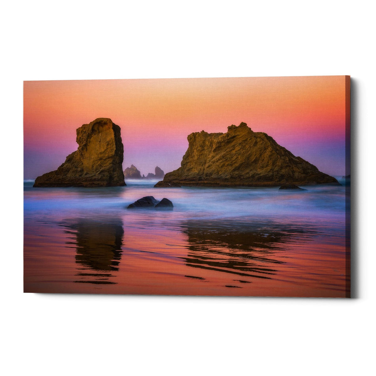 "Epic Graffiti ""Oregon's New Day"" by Darren White, Giclee Canvas Wall Art"