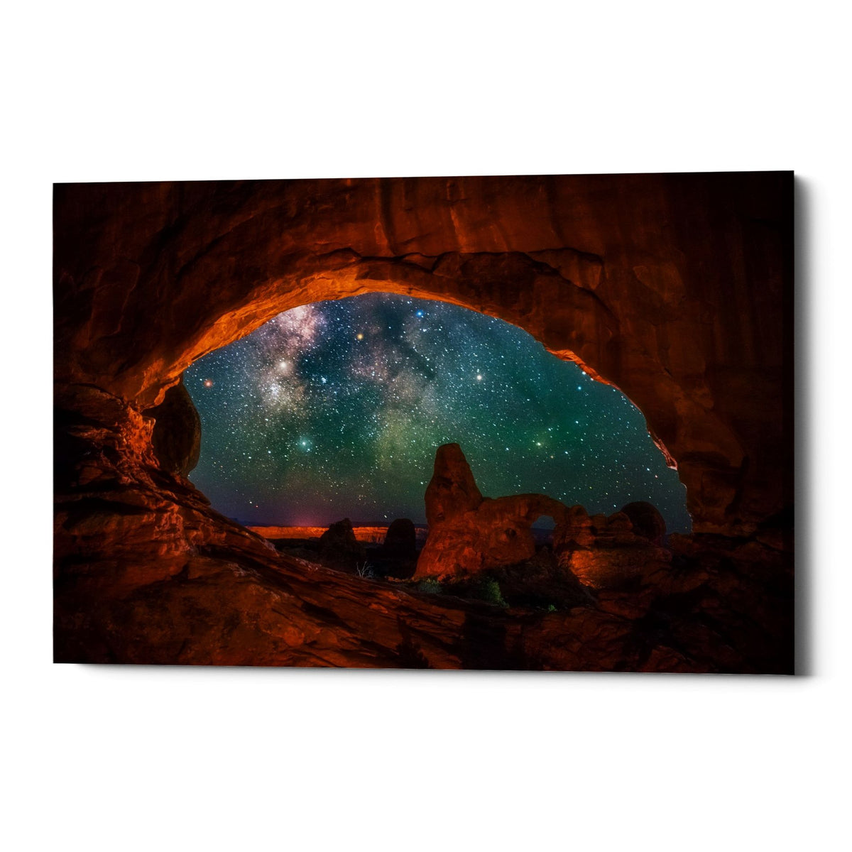"Epic Graffiti ""Window to the Heavens"" by Darren White, Giclee Canvas Wall Art"