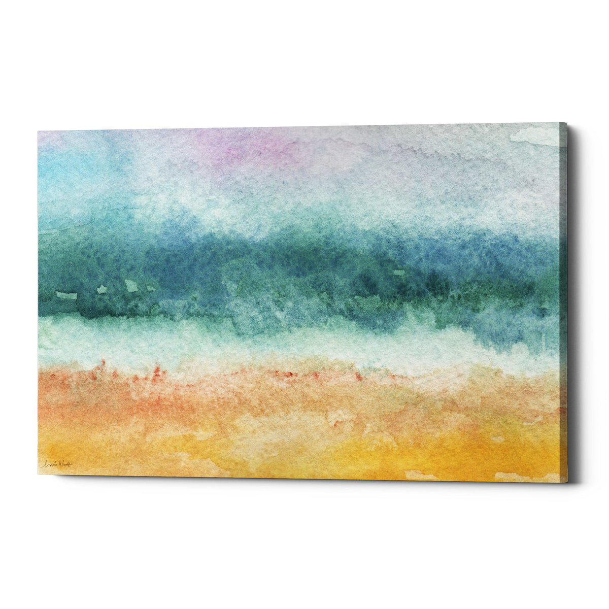 "Epic Graffiti ""Beach"" by Linda Woods, Giclee Canvas Wall Art"