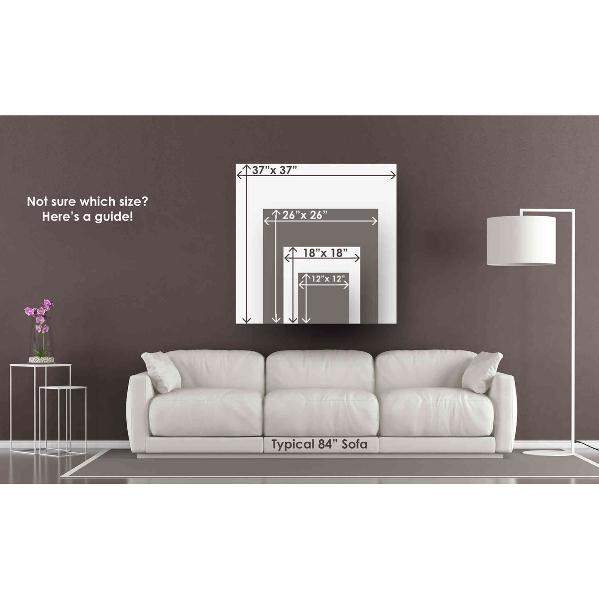 """Cortesi Home 'Closer' by Mario Sanchez Nevado, Canvas Wall Art,Size 1 Square"""