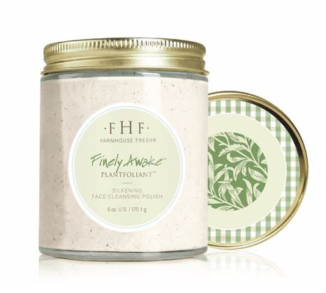 Finely Awake Face Cleansing Polish in Glass Jar (Farmhouse Fresh)