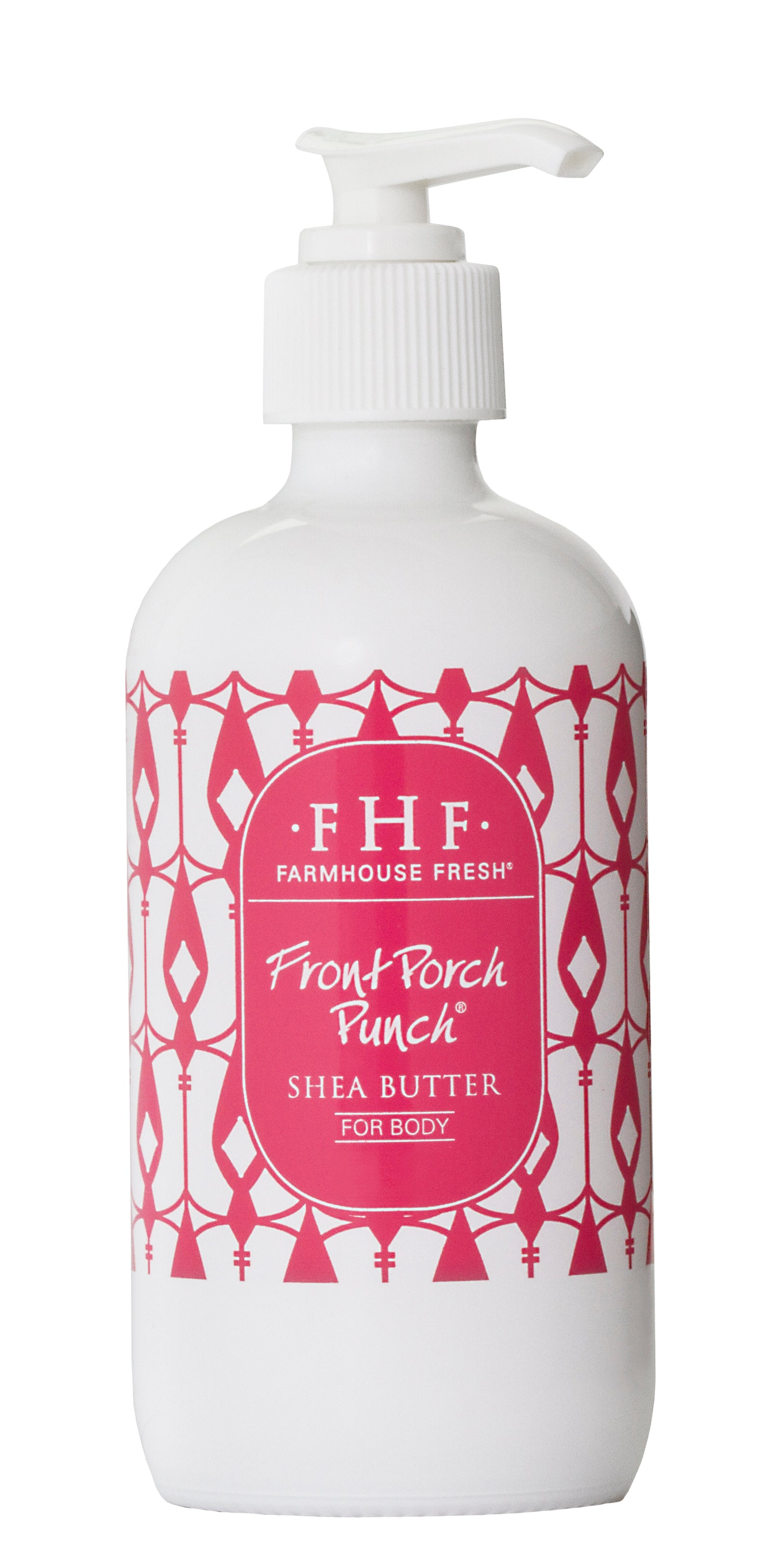 A rich shea butter cream-Front Porch Punch nourishes dry skin. in 8 oz glass jar. with decorative box.