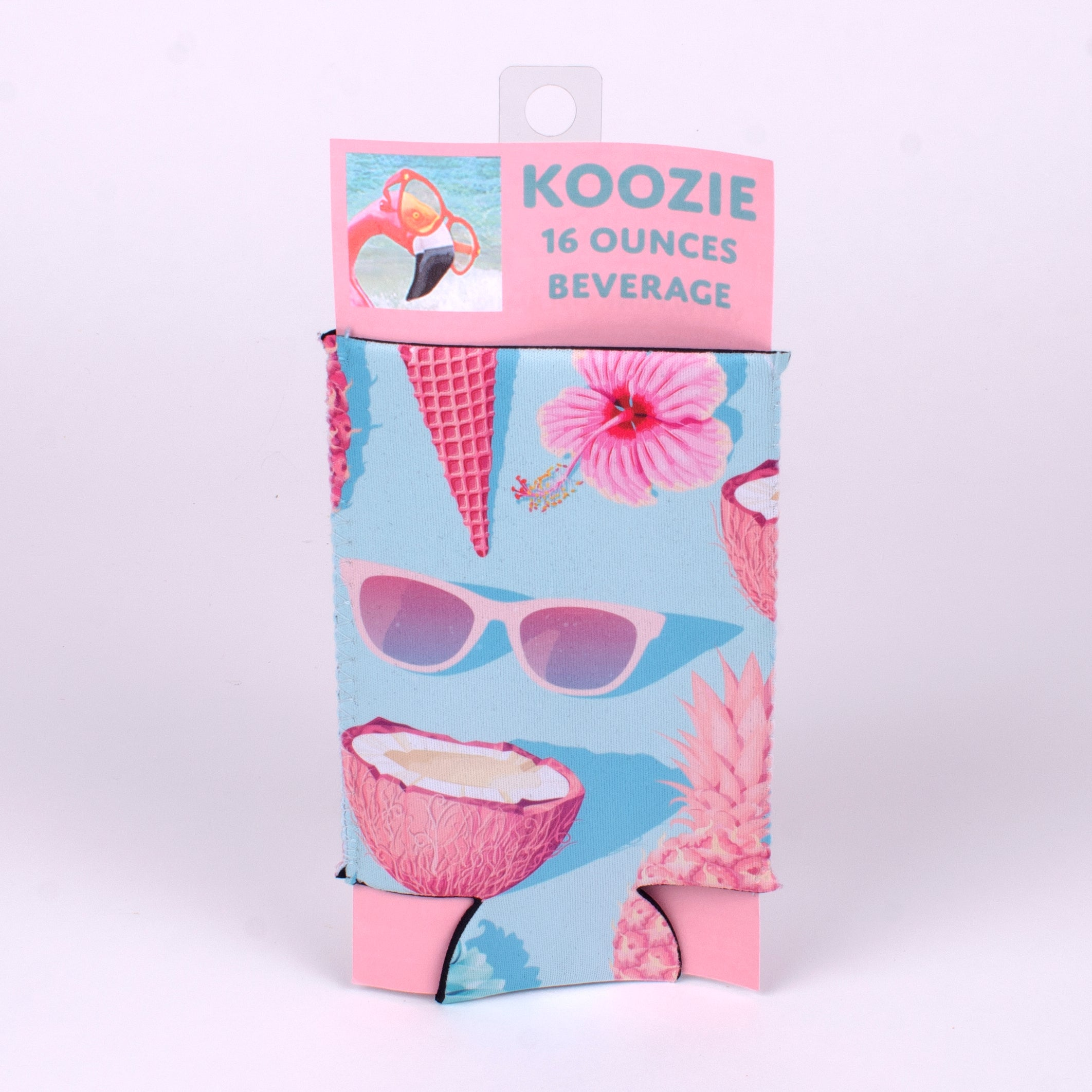 16 ounce Koozie (Image: Blue Pineapple Collage)