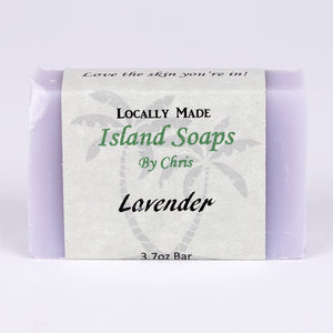 Handmade Local Soap-Lavender (3.7 oz)