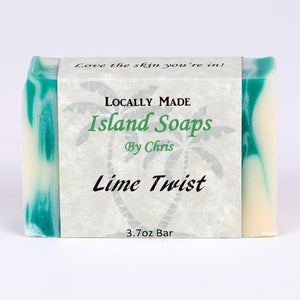 Handmade Local Soap-Lime Twist (3.7 oz)