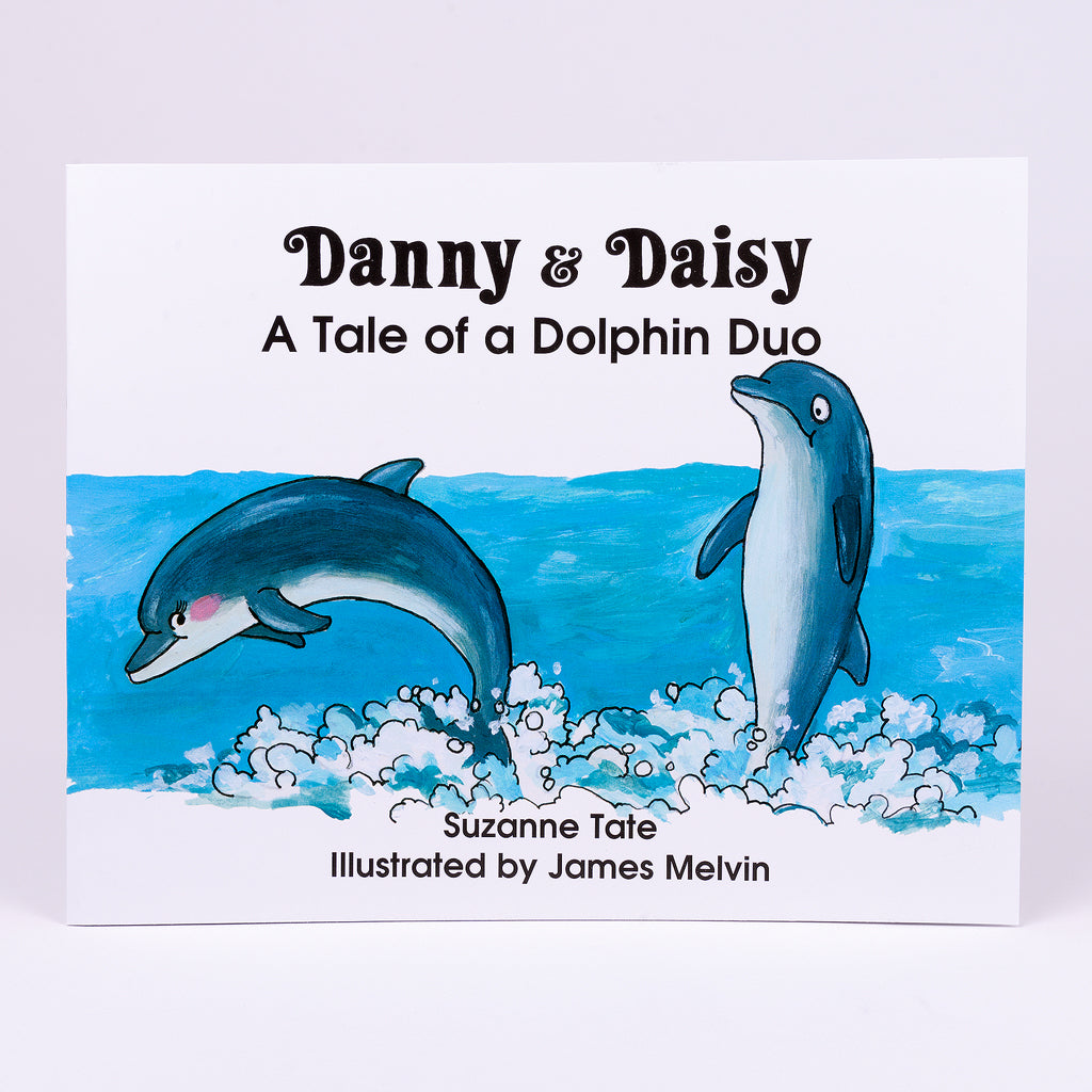 Children's Book about Tale of a Dolphin Duo named Danny & Daisy.