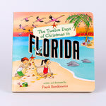 12 Days of Christmas in Florida Hard Cover Book