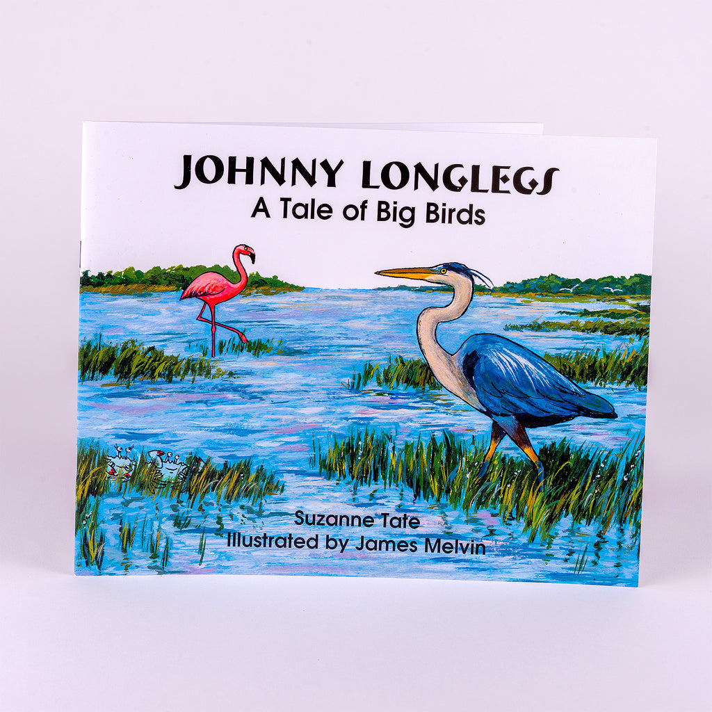 Book about the Tale of the Big Birds on the Coast