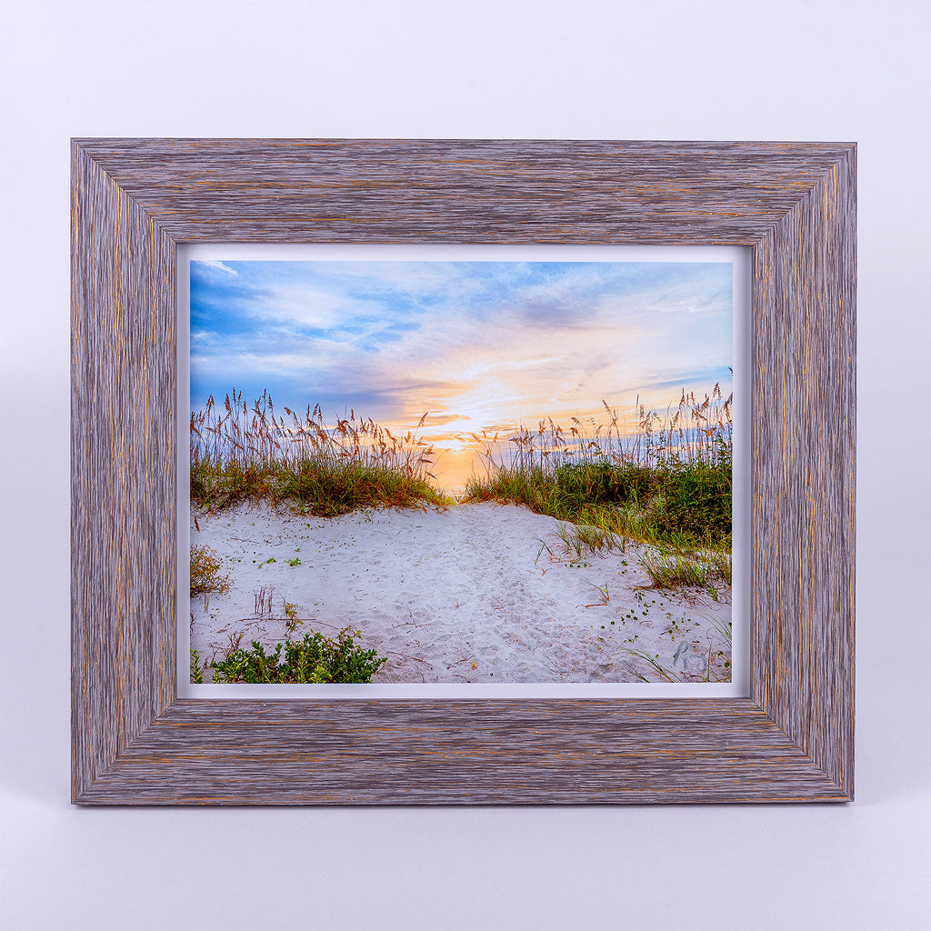Divine Light 8x10 Fine Art Photograph Rustic Frame