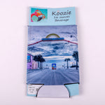 16 ounce Koozie (Image: Photo of Flagler Avenue Beach Entrance)