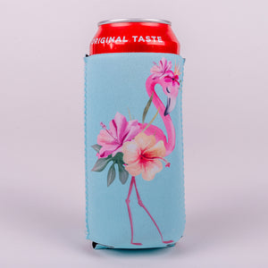 16 ounce Koozie around a soda can