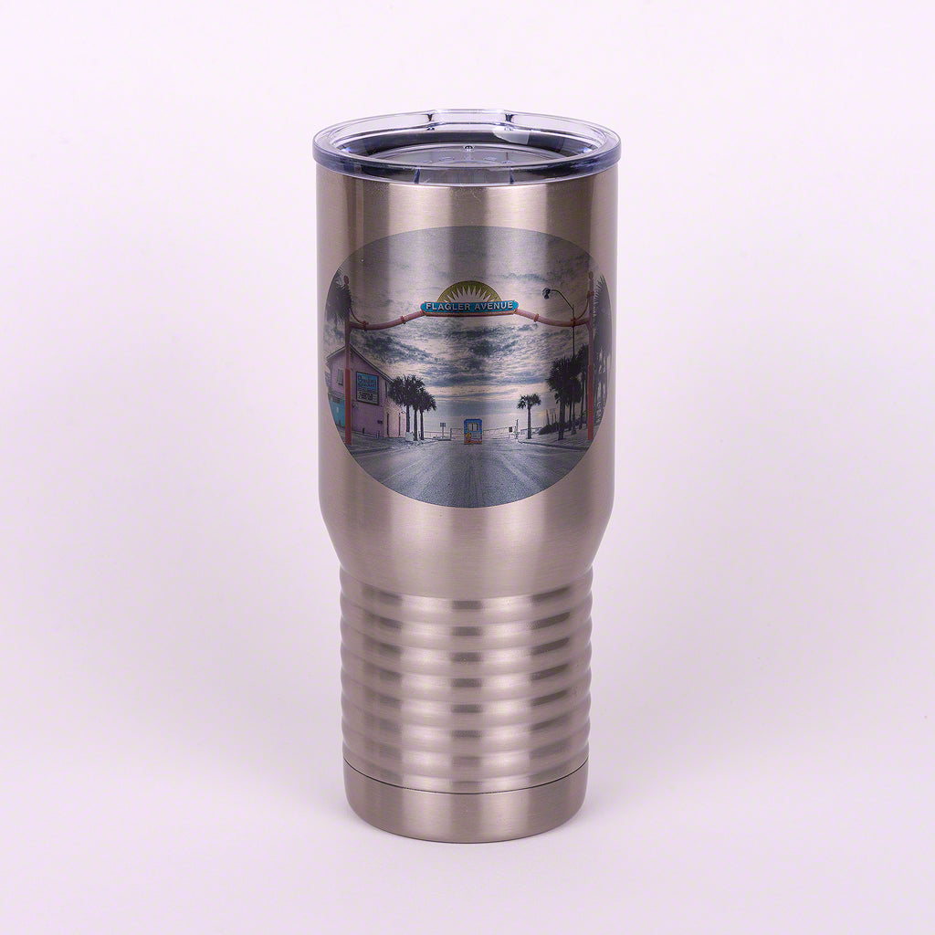 Flagler Avenue Polar Camel Stainless Steel Tumbler  20 ounces
