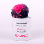 Flamingo Coffee Mug (White)