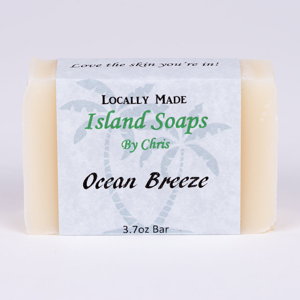 Handmade Local Soap-Ocean Breeze (3.7 oz)