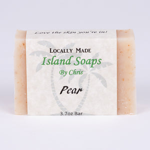 Handmade Local Soap-Pear (3.7 oz)
