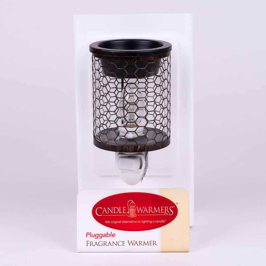 Chicken Wire pluggable candlewarmer