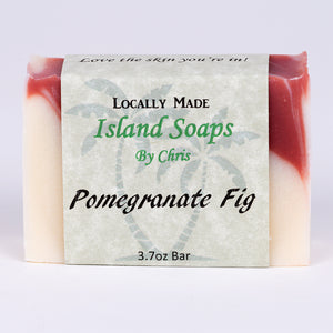 Handmade Local Soap-Pomegranate Fig (3.7 oz)