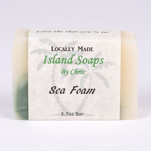 Handmade Local Soap-Sea Foam (3.7 oz)