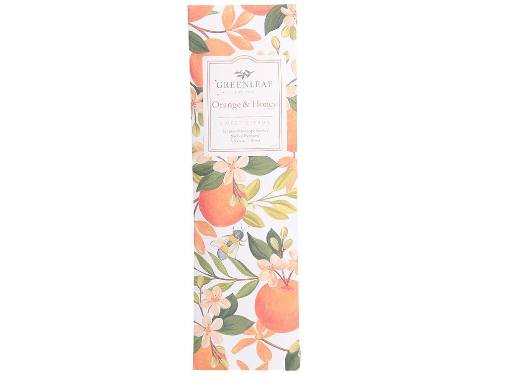 Slim Sachet in Orange & Honey Fragrance