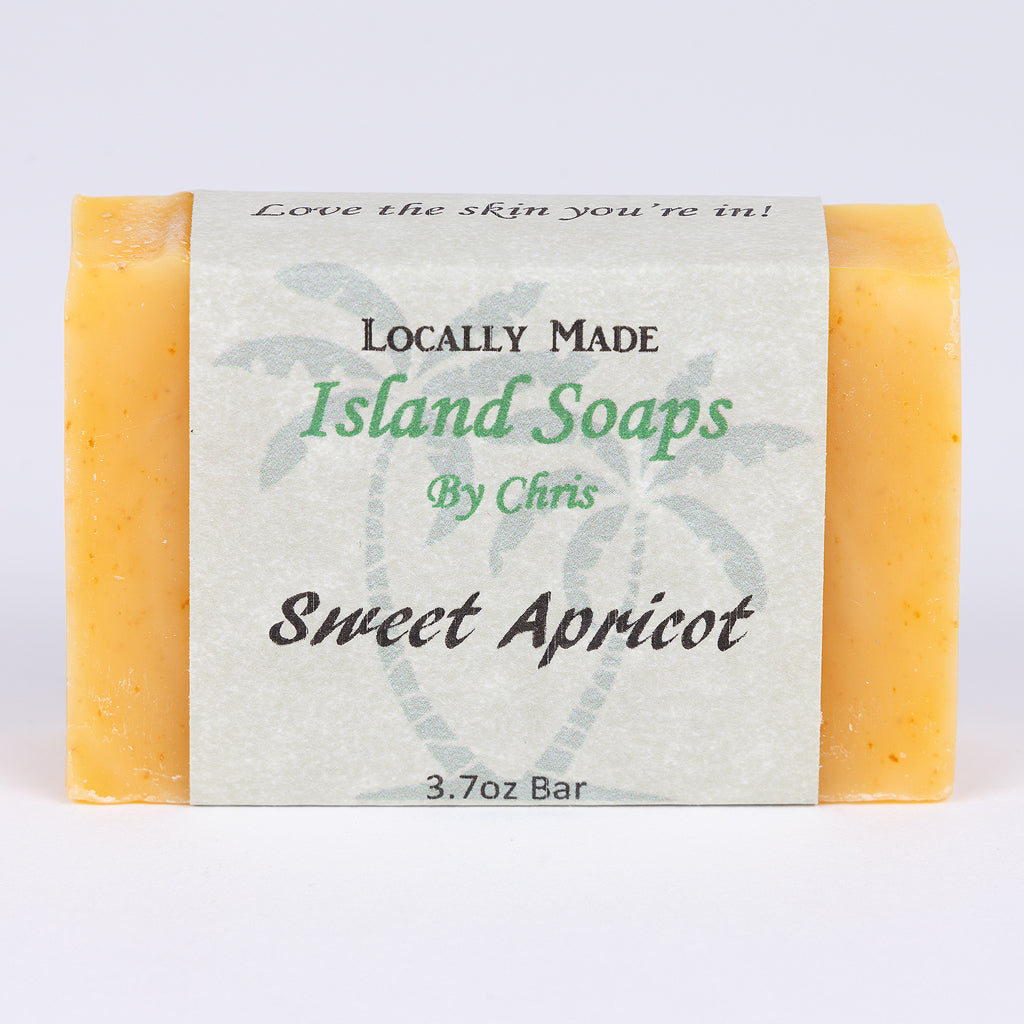 Handmade Local Soap-Sweet Apricot (3.7 oz)