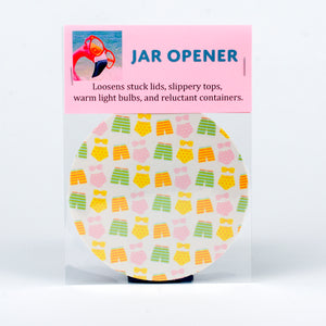 Rubber Jar Opener with Swim Suits