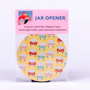 Rubber Jar Opener with Colorful VW Bugs