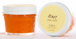 honey heel glaze in glass jar 3 ounces for your feet