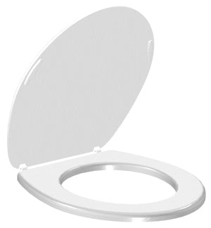 Toilet Seat, White Plastic (for WSC and WRS Waterless Toilets)