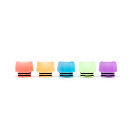 Resin 810 Wide Bore Luminous Drip Tips - Goon528 / Recurve / Rabbit / Mad Dog / Pulse / Durga / Kennedy RDA
