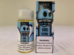 Air Factory 100ML - Frost - Blue Razz Ice