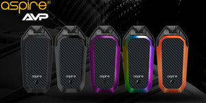 Aspire AVP 700mAh AIO Pod System Starter Kit With 2 x 2ML Refillable Pod