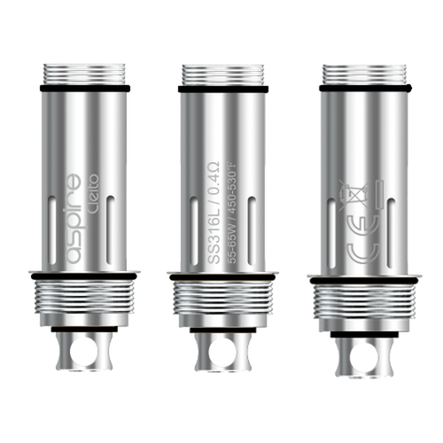 Aspire Cleito / Cleito EXO SS316L 0.4Ω Coils - Pack of 5