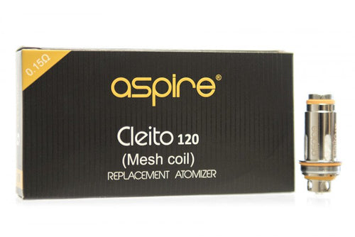 Aspire Cleito 120 Mesh Replacement Coils - Pack Of 5