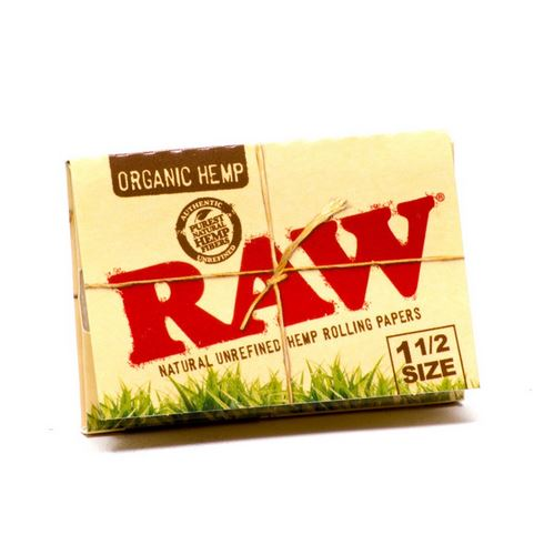 RAW - Organic Hemp 1 1/2 Rolling Papers