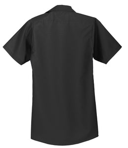 Red Kap - Charcoal Short Sleeve Industrial Work Shirt