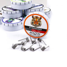 Load image into Gallery viewer, Kanthal A1 Prebuilt Coils