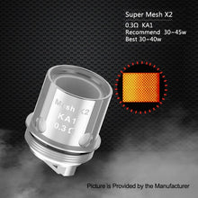 Load image into Gallery viewer, Geek Vape Supermesh Coil For Aero & Shield Tank Pack
