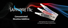 Load image into Gallery viewer, Sapphyre Nic Concentrated Unflavored Nicotine Additive  Pouches