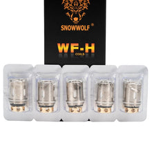 Load image into Gallery viewer, Sigelei SnowWolf WF-H Replacement Coils - Pack Of 5