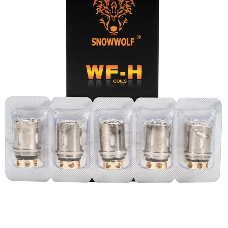Sigelei SnowWolf WF-H Replacement Coils - Pack Of 5
