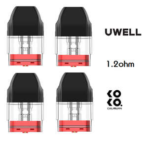Uwell - Caliburn Koko 2ml Replacement Pod - Pack of 4