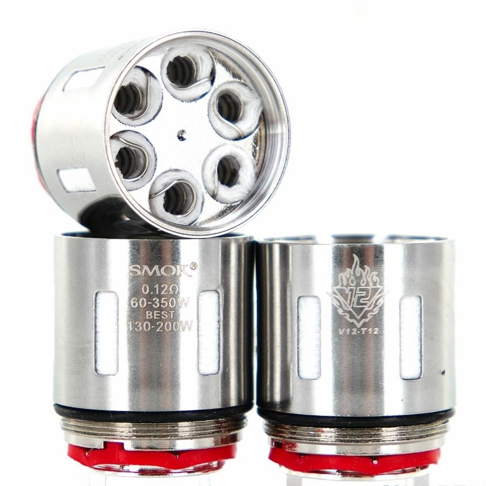 SMOK TFV12-T12 Cloud Beast King Replacement Coils Pack Of 3