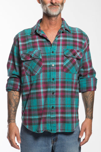 BUHO-Vintage Classic Friendly Flannel-XL-BUHO