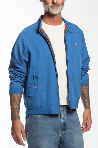 BUHO-Vintage Cobalt Lacoste Members Only Jacket-M-BUHO