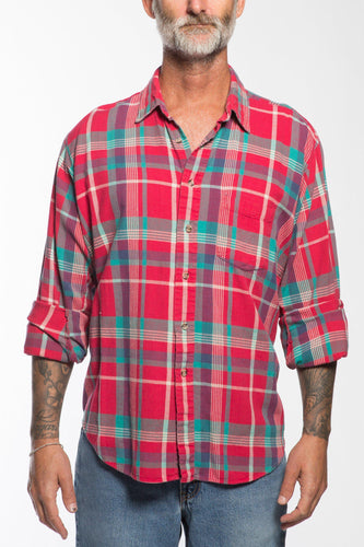 BUHO-Vintage Rugged Terrain Flannel-XL-BUHO