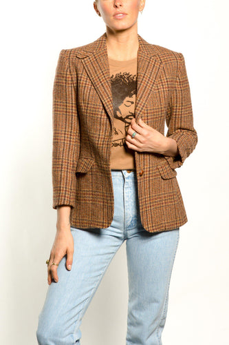 BUHO-Vintage Tweed Blazer-6-Tweed-BUHO